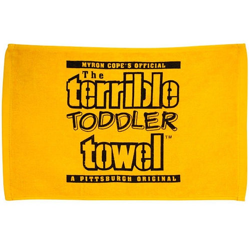 """Toddler Gold Terrible Towel 18"""" x 11"""""""