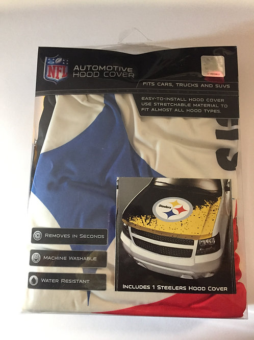 Pittsburgh Steelers Automotive Hood Cover