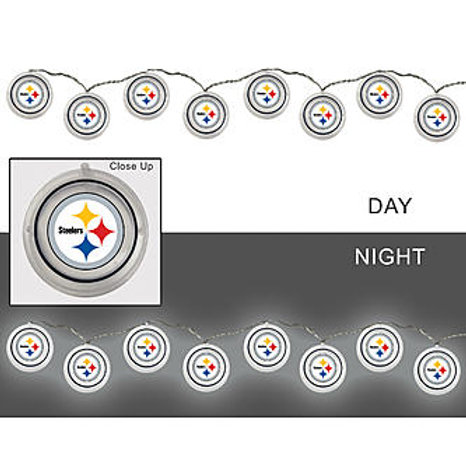 Pittsburgh Steelers String of Lights.