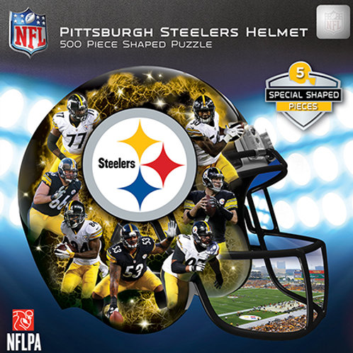 Pittsburgh Steelers 500 Piece Helmet Puzzle