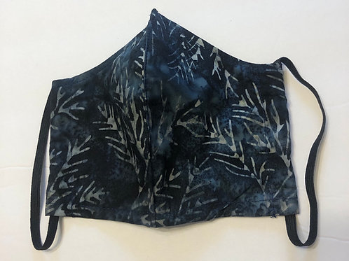 Leaf Face Mask (Individually Hand Made In The USA) Washable