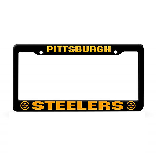 Pittsburgh Steelers Black & Gold -  License Plate Frame