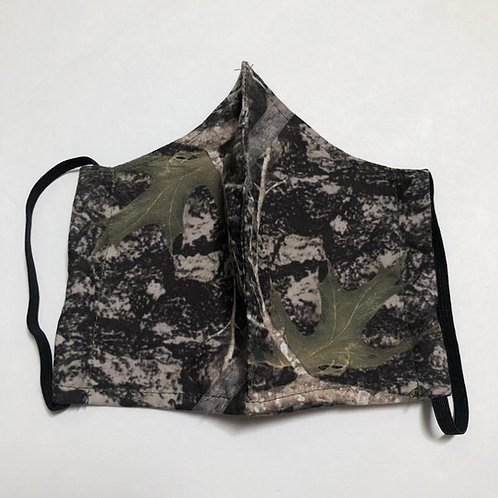 Camo Face Masks (Individually Hand Made In The USA) Washable