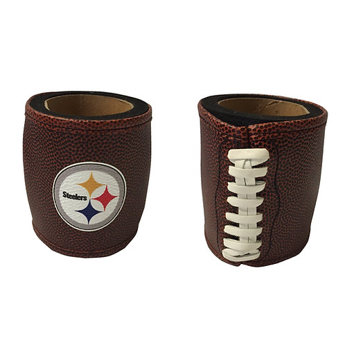 Steelers Can Koozie, Football Design