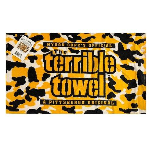 Pittsburgh Steelers *NEW* Camo Terrible Towel