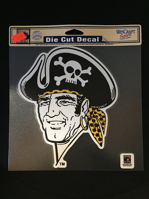 "Pittsburgh Pirates  8"" x 8"" Color Decal"