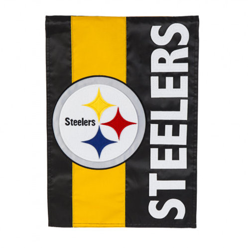 Pittsburgh Steelers Double Sided House Flag