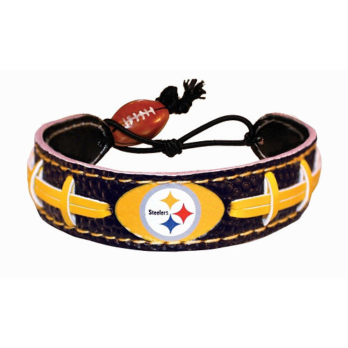 Pittsburgh Steelers Leather Bracelet
