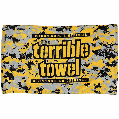 Black and Gold Camo - Terrible Towel