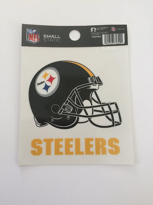Pittsburgh Steelers Small Static Decal
