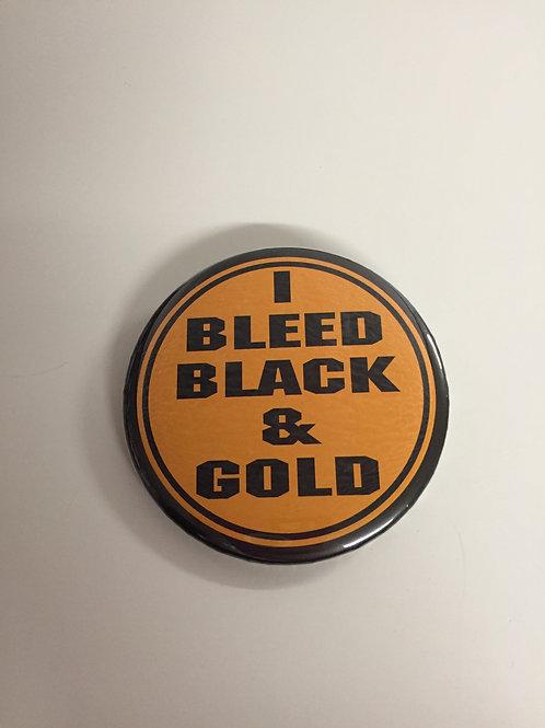 Pittsburgh Steelers 'I Bleed Black & Gold' Pin