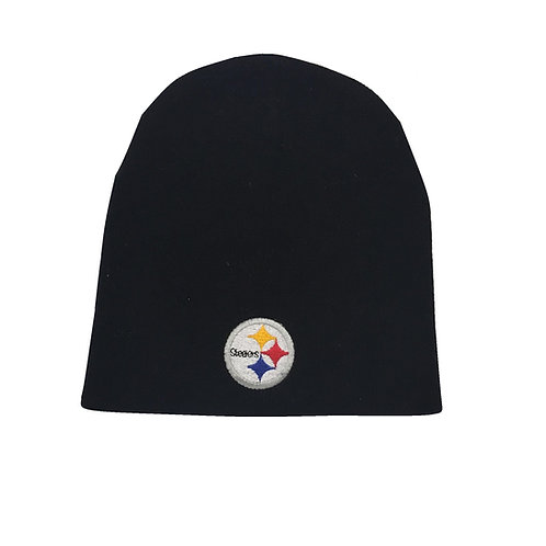 Pittsburgh Steelers Black Steelers Beanie Hat