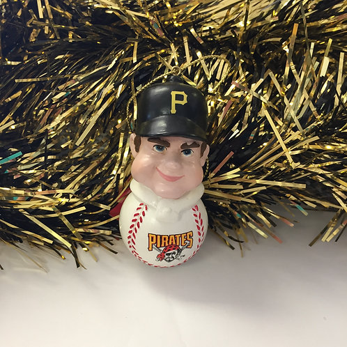 Pittsburgh Pirates Team Tackler Player Ornament