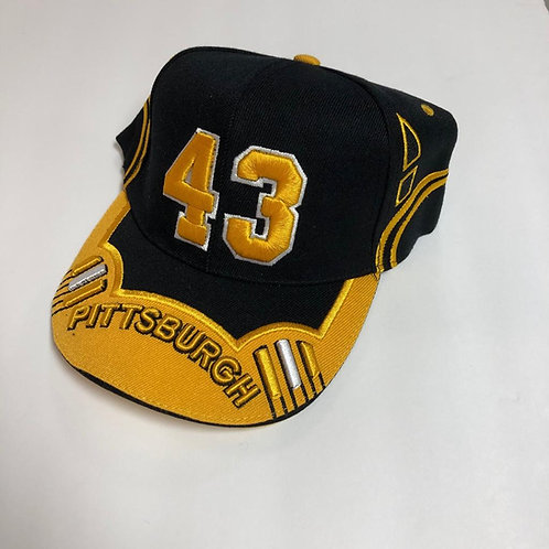 Pittsburgh Steelers Polamalu #43 Hat