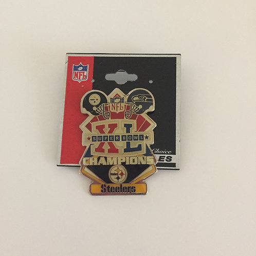 Pittsburgh Steelers Superbowl XL Champions Pin