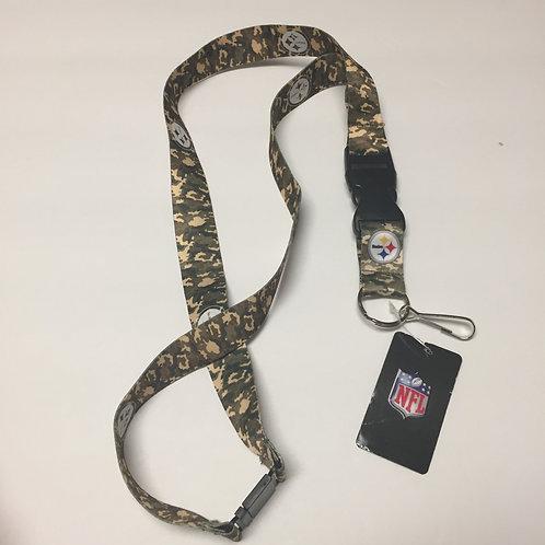 Pittsburgh Steelers Army Camo Lanyard