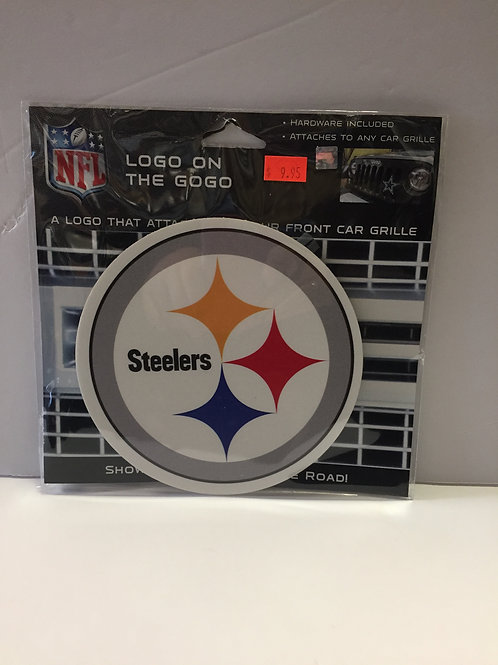 "Pittsburgh Steelers 6""x6"" Logo on the Gogo"