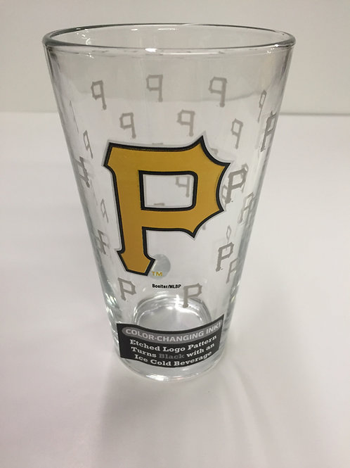 Pittsburgh Pirates Color Changing Glass