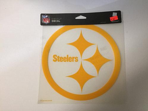 "Pittsburgh Steelers Yellow Emblem 7 1/2""x7 1/2"" Die Cut Decal"