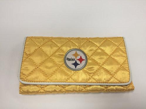 Pittsburgh Steelers Ladies Clutch Wallet
