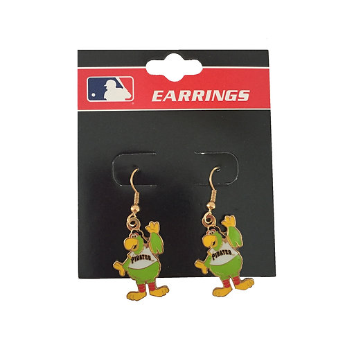 Pittsburgh Pirates Parrot Earrings