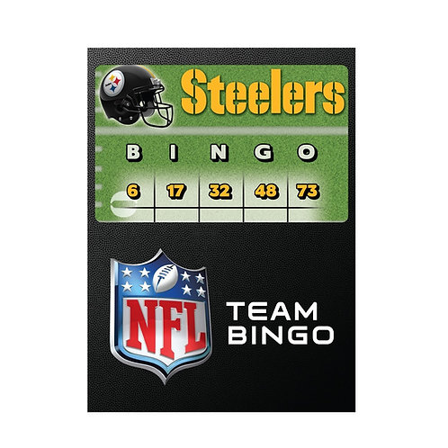 Pittsburgh Steelers Team Bingo
