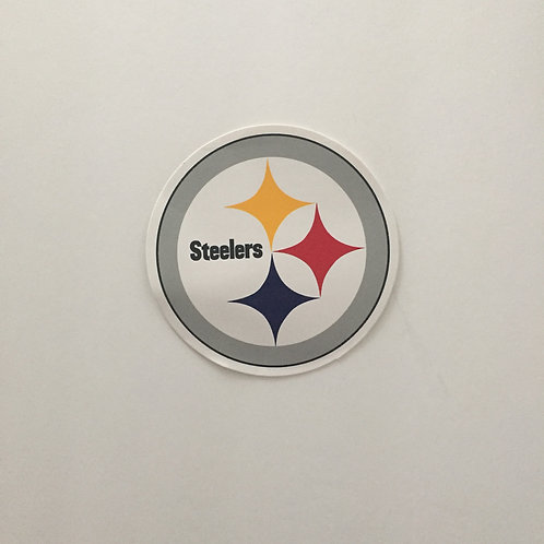"Pittsburgh Steelers Emblem 3""x3"" Sticker"