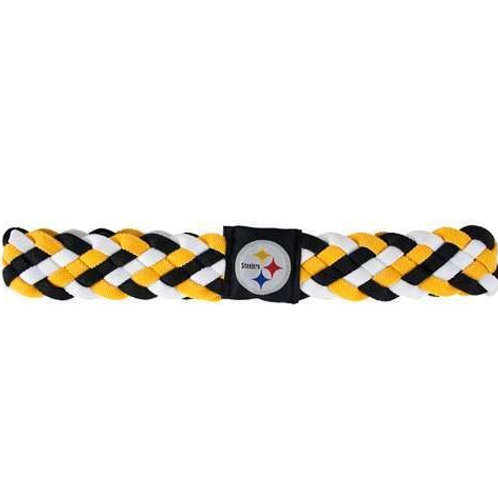 Pittsburgh Steelers Braided Headband