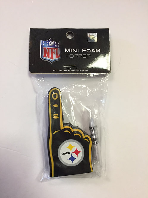 Pittsburgh Steelers Mini Foam Topper