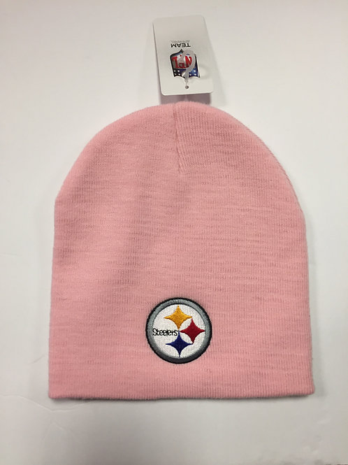 Pittsburgh Pink Steelers Beanie Hat