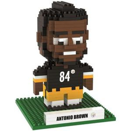 Pittsburgh Steelers #84 Brown Player Brxlz Puzzle Set