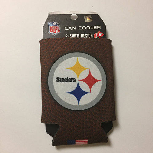 Pittsburgh Steelers, Football, Foldable Can Koozie
