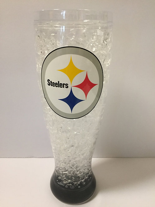 Pittsburgh Steelers Frosty Glass