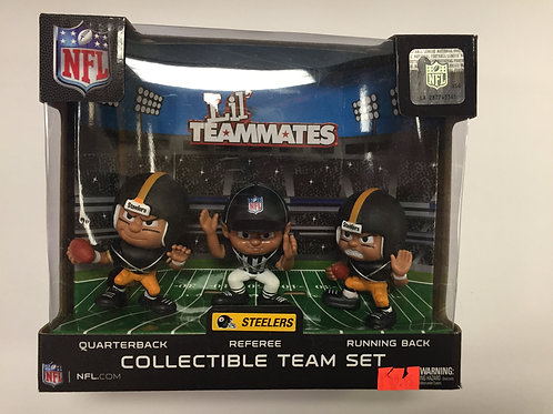 Pittsburgh Steelers Lil'Teammates 3 pack