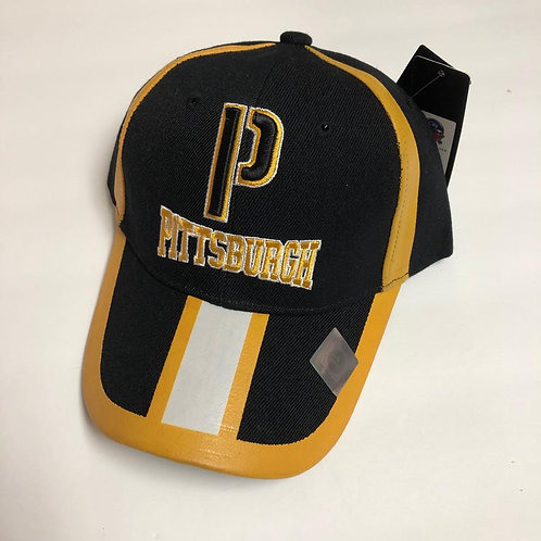 Pittsburgh White Stripe Hat