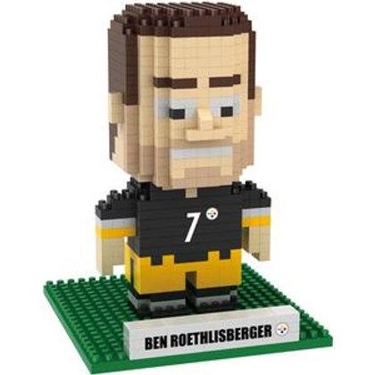 Pittsburgh Steelers #7 Roethlisberger Player Brxlz Puzzle Set