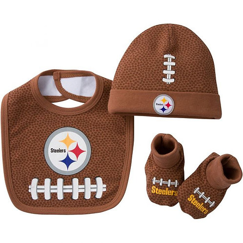Pittsburgh Steelers Football 3 Piece Set