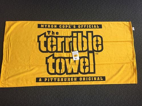 Pittsburgh Steelers Beach Terrible Towel