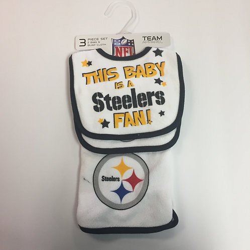 Pittsburgh Steelers 'This Baby' 3 Piece Set