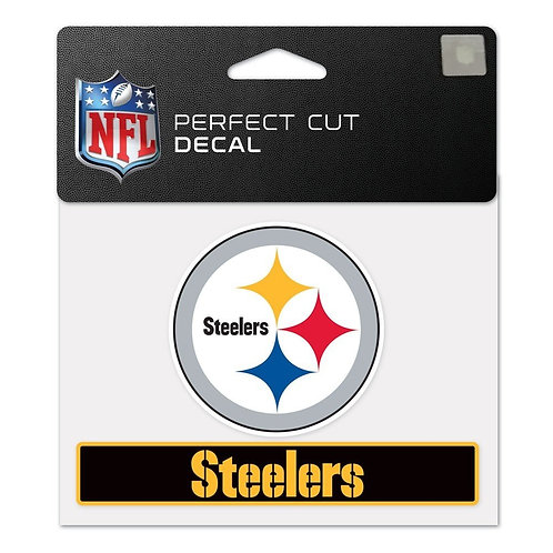 Pittsburgh Steelers Perfect Cut Decal Emblem & Team Name