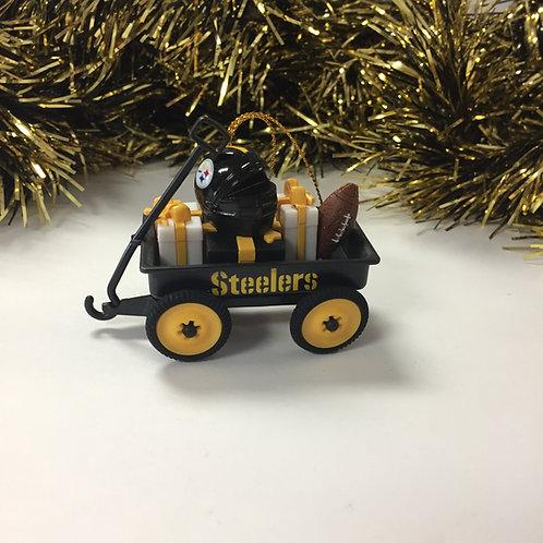 Pittsburgh Steelers Wagon Ornament