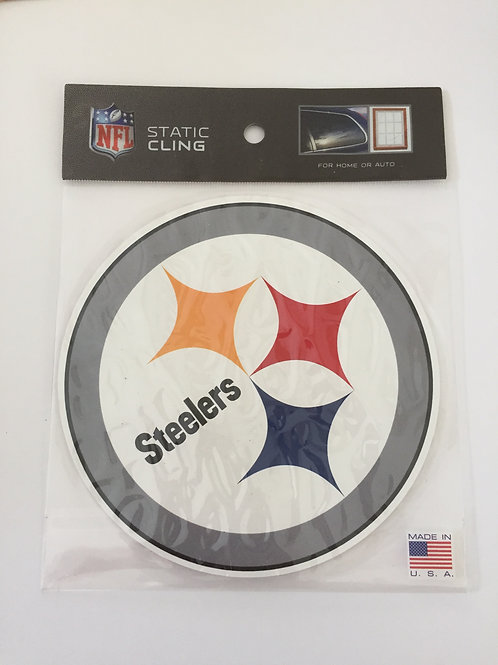 Pittsburgh Steelers Static Cling Decal