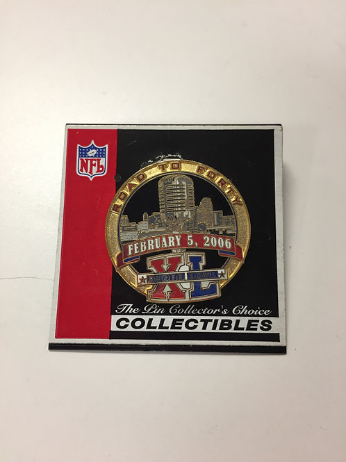 Pittsburgh Steelers 'Road to Forty' Collectible Pin