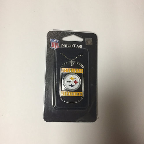 Pittsburgh Steelers Neck Tag