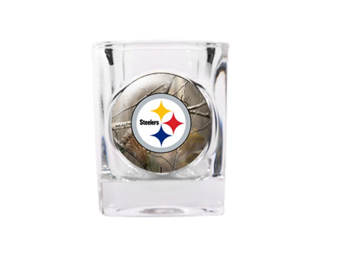 Pittsburgh Steelers 2oz Square Shot Glass