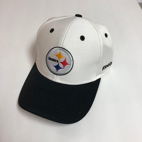 Pittsburgh Steelers Black & White Hat