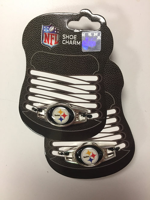 Pittsburgh Steelers Emblem Shoe Charms