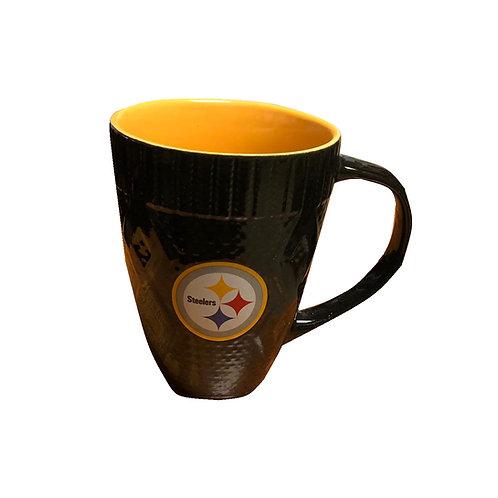 Pittsburgh Steelers Metalic Design Mug