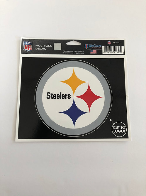 Pittsburgh Steelers Multi-Use Emblem Decal