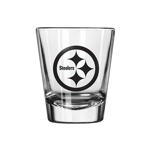 Pittsburgh Steelers Clear Shot Glass